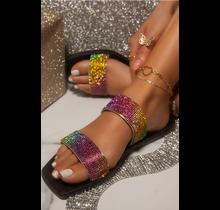 Bling Dreams Sandals - Rainbow