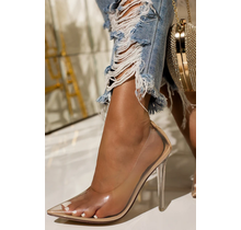 Notorious Clear Pumps