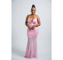 Queen Of All Lace  Maxi Dress