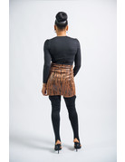 Slither To You Snakeskin Skirt