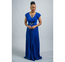 Fame & Fortune Maxi Dress Royal Blue