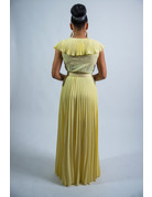 Fame & Fortune Maxi Dress Yellow