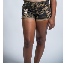 Army Girl Camouflage Shorts