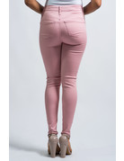 Good Days High Rise Skinny Pants - Mauve