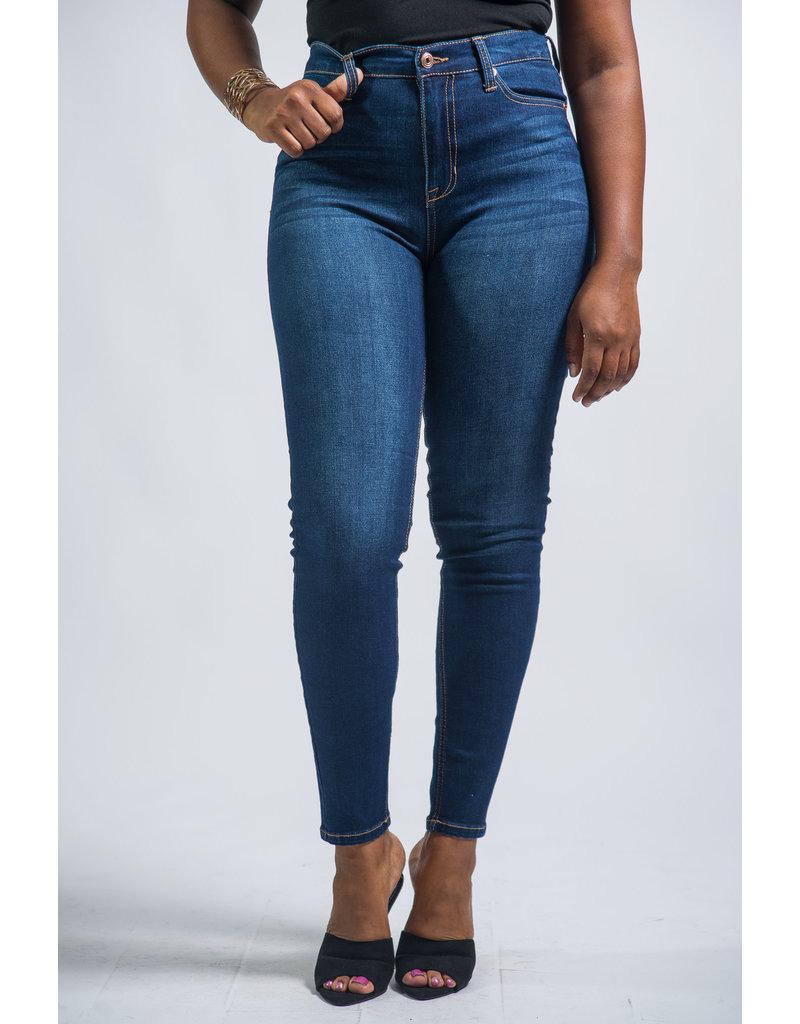 Turn Me Around High Rise Skinny Jeans