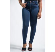 Basic Needs High Waist Jeans - DARK WASH
