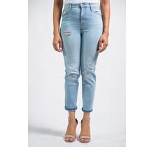 See Ya Soon Slim Straight Leg Ultra High Rise Jeans
