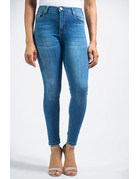 No Risks Mid Rise Ankle Skinny Jeans