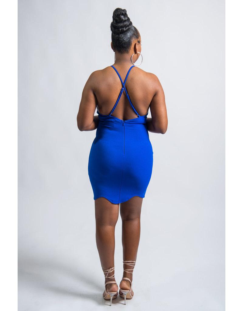 Share My Shine Embellished Bodycon Dress