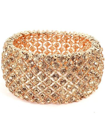 Carnival Fun Bracelet - Rose Gold