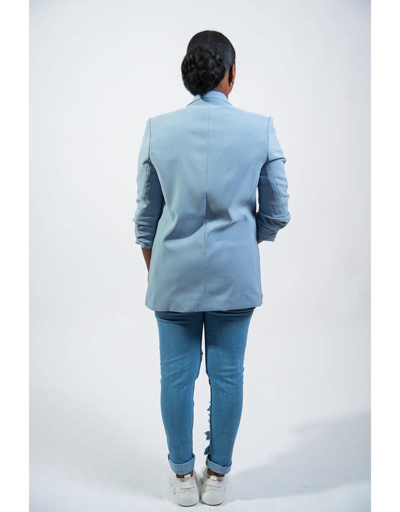 Stay Classy Blazer - Blue