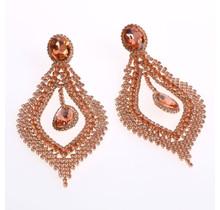 Dive Spark Earrings - Rose Gold