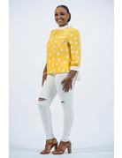 Hello Sunshine Polka Dot Top