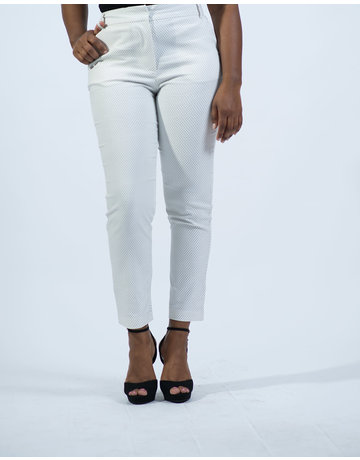 Look At Me Now Ankle Pants - WHITE