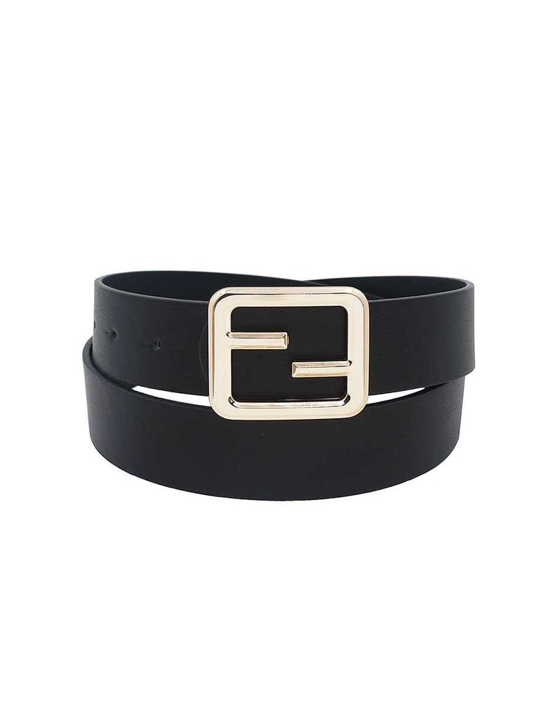 Caught Up Belt - Black