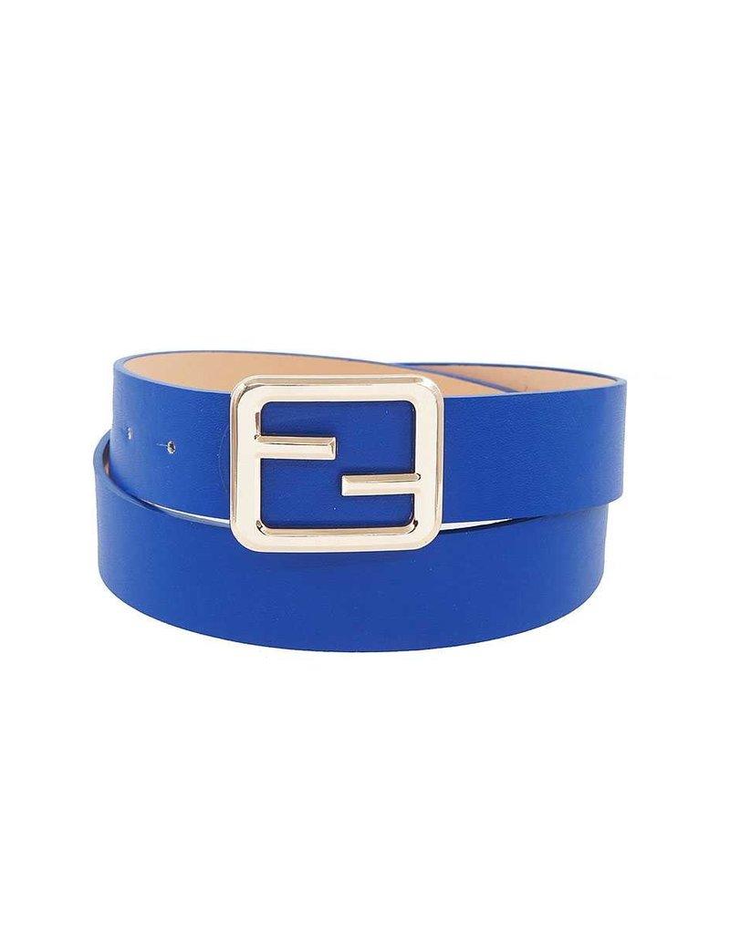 Caught Up Belt - Royal Blue
