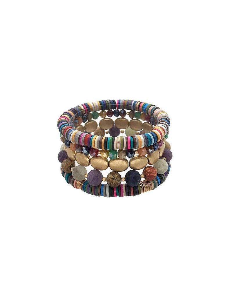 Write Your Story Bracelet Stack - Multi