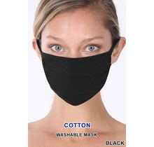 So Essential Washable Mask - Black