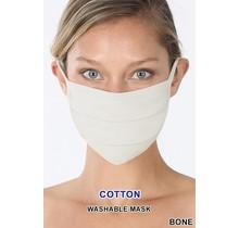 So Essential Washable Mask - Bone