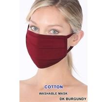 So Essential Washable Mask - Dark Burgundy
