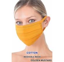 So Essential Washable Mask - Golden Mustard