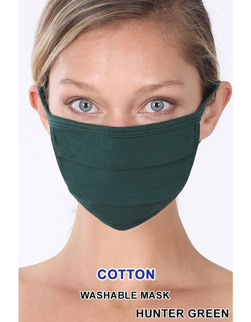So Essential Washable Mask - Hunter Green