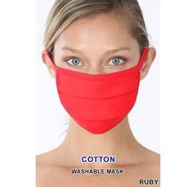 So Essential Washable Mask - Ruby