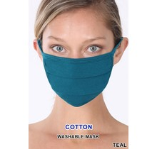 So Essential Washable Mask - Teal
