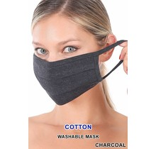 So Essential Washable Mask - Charcoal