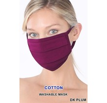 So Essential Washable Mask - Dark Plum