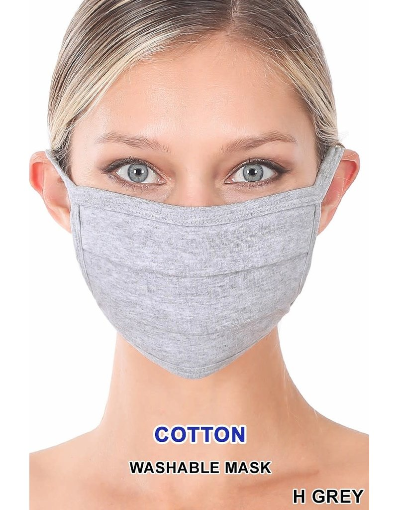So Essential Washable Mask - Heather Grey