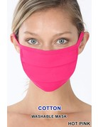 So Essential Washable Mask - Hot Pink
