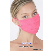So Essential Washable Mask - Neon Pink