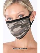 So Essential Washable Mask - Dusty Camouflage