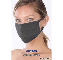 So Essential Washable Mask - Ash Grey