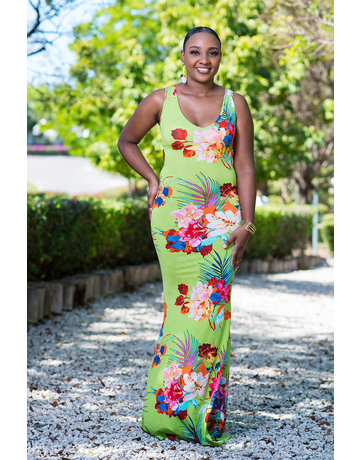 Playing In Paradise Maxi Dress