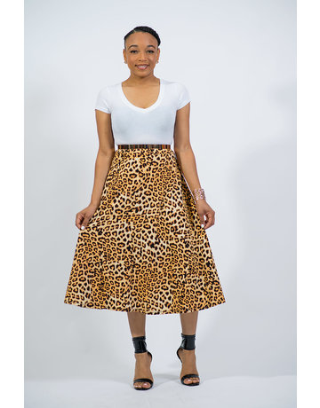 Lady Leopard Skirt