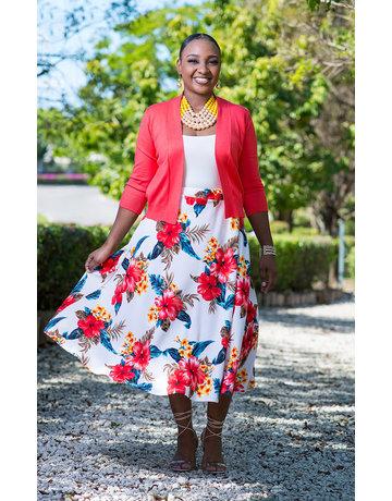 Flowing Florals Skirt