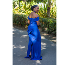Follow My Lead Maxi Dress - Royal