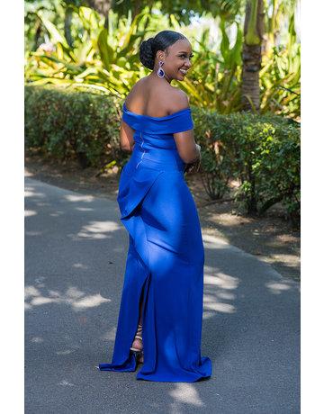 Follow My Lead Maxi Dress - Royal