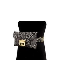 Classica Snake Print Bag - Black