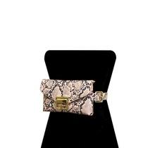 Classica Snake Print Bag - Pink