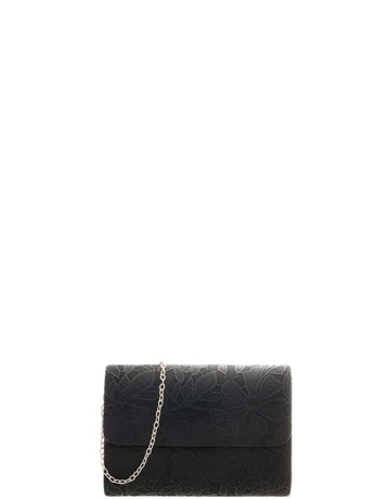 Old Timer Textured Clutch - Black