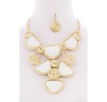 Doing Me Necklace Set - Ivory
