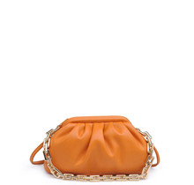 New Things Ruched Bag - Caramel
