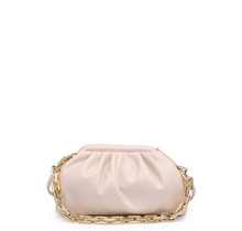 New Things Ruched Bag - Oatmilk