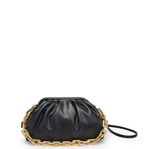 New Things Ruched Bag - Black