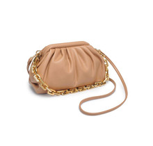 New Things Ruched Bag - Natural