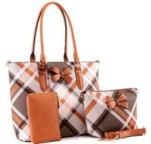 Getting Down Handbag Set - Cognac