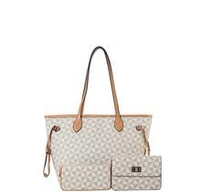 Life Of Luxury 3PC Handbag Set - White
